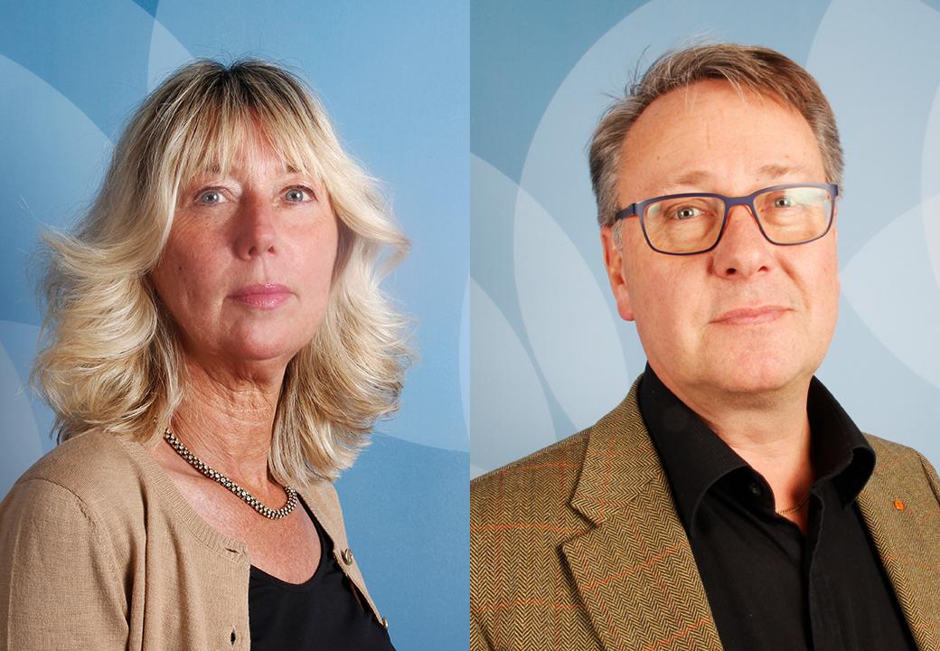 Vesna Jovic och Lars Holmblad