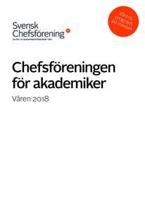 Vårens program Svensk Chefsförening