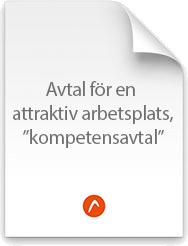 """Förslag till avtal för en attraktiv arbetsplats, """"kompetensavtal"""""""