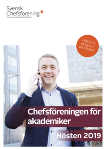 Svensk Chefsförening, program hösten 2019