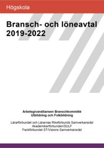 Högskola Bransch- och löneavtal 2019-2022