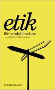 Etik för samhällsvetare (e-bok)