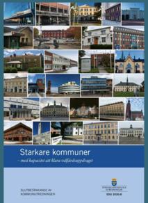 Starkare kommuner - med kapacitet att klara välfärdsuppdraget
