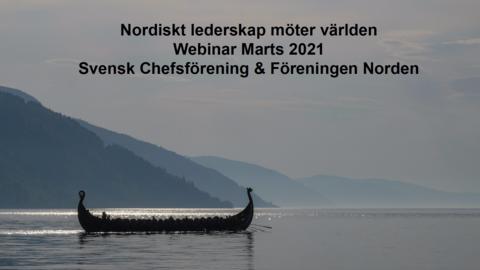 Presentationsmaterial: Nordiskt ledarskap möter världen