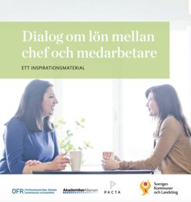 Dialog om lön mellan chef och medarbetare