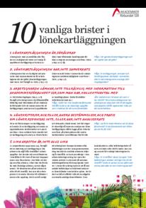 10 vanliga brister