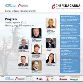 Program: Chefsdagarna 2010