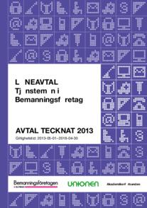 Almega Bemanningsföretagen Löneavtal 2013-2016