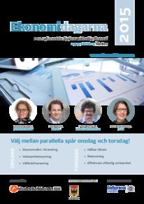 Ekonomidagarna i Örebro program 2015