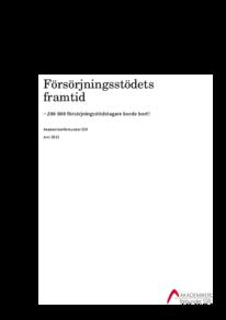 Försörjningsstödets framtid (2013-07-03)