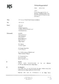 Förhandlingsprotokoll - Konsult och Service - Saco och Ledarna 2013