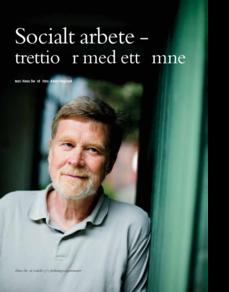 Forskning i socialt arbete 1987-2007