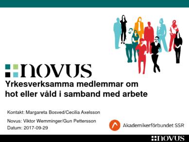 Novus Hot och våld november 2017