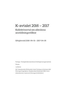 K-avtal Fastigo 2016