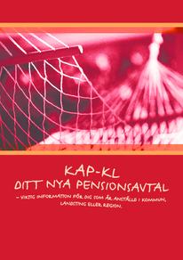 KAP-KL ditt nya pensionsavtal - folder