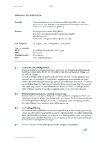KFO Förhandlingsprotokoll Hälsa, vård och omsorg 2012