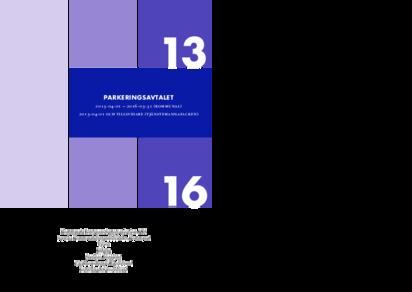 KFS Parkeringsavtalet 2013 - tillsvidare