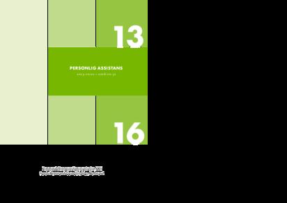 KFS branschavtal 2013 Personlig Assistans