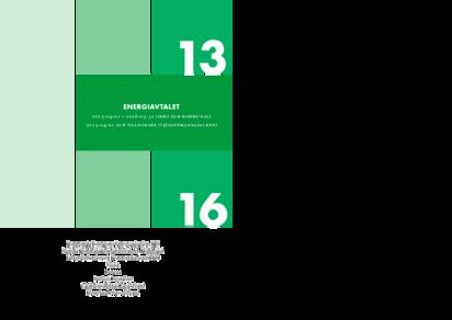 KFS Branschavtal Energi 2013 och tillsvidare