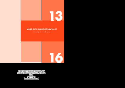 KFS Vård och Omsorgsavtalet 2013-2016