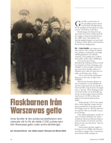 Förintelsens minnesdag 27 januari