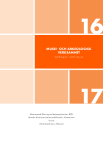 KFS Musei- och arkeologisk verksamhet 2016
