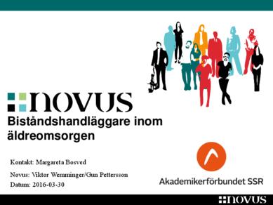 Novus biståndshandläggare 2016