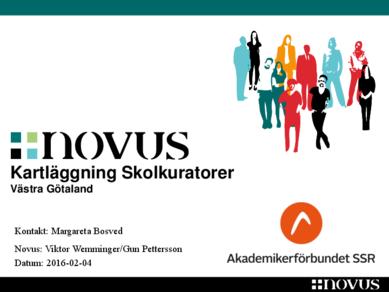Novus skolkuratorer Västra Götaland
