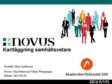 Novus: Samhällsvetare 2015
