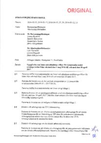 Bemanningsavtalet 2016