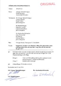 Förhandlingsprotokoll Almega Tjänsteföretagen Medieföretagen 2016