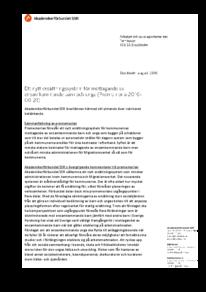 2016-08-24 Ett nytt ersättningssystem för mottagande av ensamkommande barn och unga (promemoria 2016-06-21)