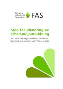 Stöd för planering av arbetsmiljöutbildning