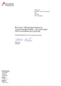 2015-05-26 Tillämpningsdirektivet till utstationeringsdirektivet - Del I och II
